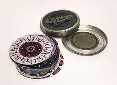 Sixteen animated phenakistoscope discs featuring life's fleeting moments.