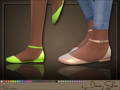 Women Shoes _ Ballet Flat shoes The Sims 4 _ - The Sims 4 Love Life Asia VietNam Sims 4 Mods, Sims 2, Toddler Girl Shoes, Kid Shoes, Girls Shoes, Flat Shoes, Sims 4 Cc Eyes, Sims 4 Cc Skin, The Sims 4 Shoes