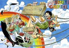 One Piece Colorspread by Eichiiro Oda