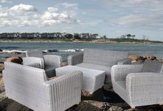 Bandung Living Sets, Aluminum Framework and Rattan Synthetic Weave. email: berry@misera-furniture.com