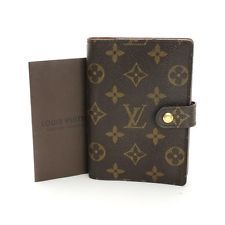 Authentic Louis Vuitton Agenda PM Monogram to use as a wallet.