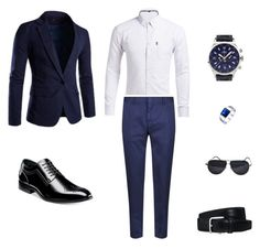 """""""Prom suit outfit"""" by kevin-bonilla on Polyvore featuring Z Zegna, Stacy Adams, Balmer, Bling Jewelry, BMW, Tod's, men's fashion and menswear"""