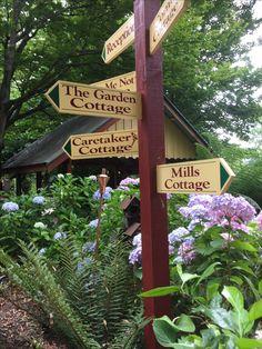 Cottages, Garden, Art, Art Background, Cabins, Garten, Country Homes, Lawn And Garden, Kunst
