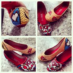 Shoes DIY Pop Art
