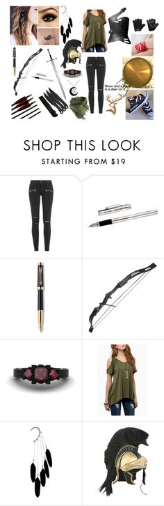 """Capture the flag #daughtere of Artemis C"" by josefine-carranza ❤ liked on Polyvore featuring Paige Denim, Parker and Casall"