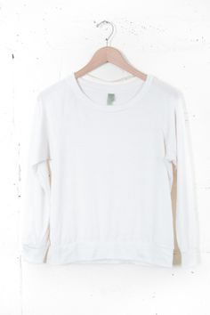 Cream Slouchy Pullover - @ Parc Boutique