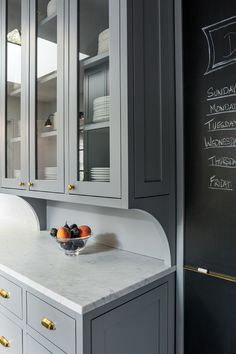 """Smith loves what he calls Shaker-style cabinets, with a flat rail and flat panel within. """"There's a little bit of detail without any radius molding,"""" he said. """"It's a clean look."""""""