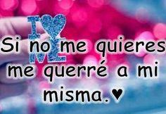 Me interesa amarte, quiero amarte.