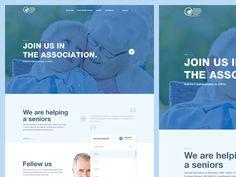 Senior web homepage by Andrej Krajčir