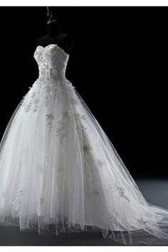380c71736ff9c ウェディングドレス ボールガウン ハートカット オーガンジー オレンジ レースアップ フリル ノースリーブ フロアー丈 結婚式 二次会ドレス 花嫁  Hlb0086