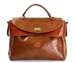 Vintage Fendi Satchel Bag