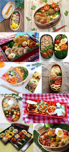 日本人のごはん/お弁当 Japanese meals/Bento 日本人のお弁当がメインだが, バッタもんが混じってるかもしれない;…Cooking Gallery, note to self a great bento website with lots of great Japanese and the other's bento recipes to try out!