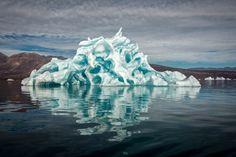 Eisige Schönheit: Greenland Reflections von Michael J Quinn