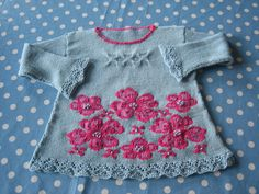 Ravelry: Wildflower Sweater pattern by Lucinda Guy