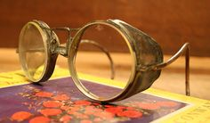 Vintage Industrial Factory Safety Glasses by AuroraMills on Etsy, $75.00
