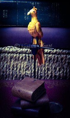 1:12 dollhouse Phoenix Witch & Wizard by Vanilla Heart Miniatures