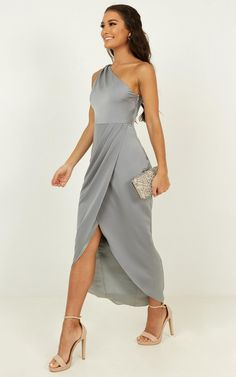 Complete your look with the Felt So Happy Dress In Dusty Blue from Showpo! Buy now, wear tomorrow with easy returns available. Dusty Blue Dress, Blue Dresses, Casual Dresses, Formal Dresses, Dresses To Wear To A Wedding, Wedding Attire, Bridesmaid Dresses, Prom Dresses, Mother Of Groom Dresses