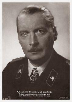 Generalleutnant der Reserve Hyazinth Graf Strachwitz von Gross-Zauche und Camminetz