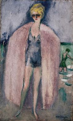 View LA BAIGNEUSE By Kees Van Dongen; oil on canvas; Access more artwork lots and estimated & realized auction prices on MutualArt. Henri Matisse, Rotterdam, Georges Seurat, Art Fauvisme, Maurice De Vlaminck, Ernst Ludwig Kirchner, Raoul Dufy, Great Works Of Art, Van Gogh Museum