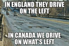 "Canadian Memes For The Perpetual Apologizers - Funny memes that ""GET IT"" and want you to too. Get the latest funniest memes and keep up what is going on in the meme-o-sphere. Canada Jokes, Canada Funny, Canada Eh, Sarcastic Humor, Funny Jokes, Hilarious, Car Jokes, Funny Cars, Stupid Funny"