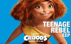 DreamWorks Animation's THE  CROODS