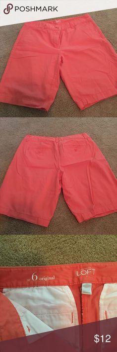 Coral Shorts Coral Loft shorts LOFT Shorts Bermudas