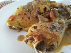 Papillote de pollo y verduras