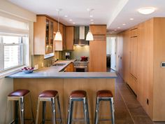 Small Kitchen Options: Smart Storage and Design Ideas | Kitchen Designs - Choose Kitchen Layouts & Remodeling Materials | HGTV
