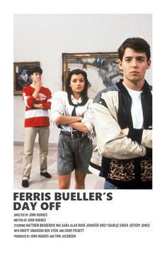 ferris bueller's day off Iconic Movie Posters, Movie Poster Art, Iconic Movies, Poster Wall, Good Movies, Poster Prints, Aesthetic Movies, Aesthetic Pictures, Photo Wall Collage