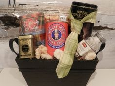 Let's not forget the men in your life!  (All Tied Up At The Moment $75+tax)