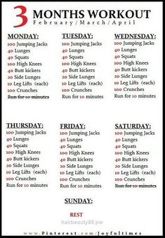 Superb A workout plan for Feb/Mar/Apr The post A workout plan for Feb/Mar/Apr… appeared first on Beauty and Fashion .