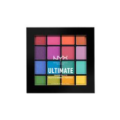 Ultimate Shadow Palette (68 RON) ❤ liked on Polyvore featuring beauty products, makeup, eye makeup, eyeshadow, nyx eyeshadow, palette eyeshadow, nyx eye shadow and nyx