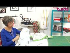 Embroidery - How to prepare a Drawn Fabric Embroidery Sewing Tutorials, Sewing Projects, E Design, Good To Know, Diy Tutorial, Diy And Crafts, Hobbies, Singer, Embroidery