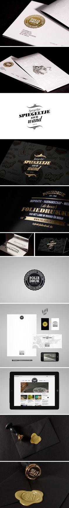 Foliedruk identity   by skinn