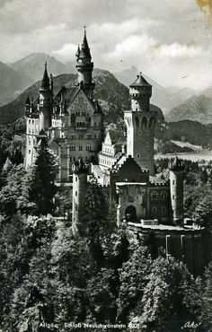 The Original Disney Castle - Neuschwanstein Castle