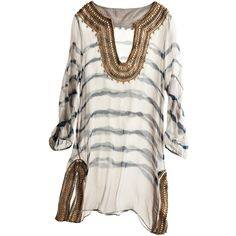 Calypso St. Barth Batik Sailor Tunic