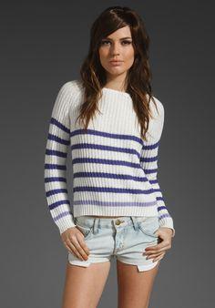 Bec Pierre Stripe Jumper Red White Blue, Girls Best Friend, Summer Looks, Knitwear, Jumper, Stripes, Pullover, My Style, Sweaters