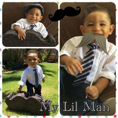Dressed up my little man and took photos of him with my iphone 5S, then used my Walgreens app to print them out and pick up in the store in an hour