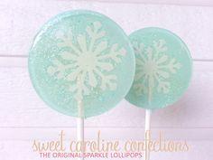 Snowflake Frozen Favors Snowflake por SweetCarolineConfect en Etsy