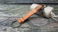 Leather Keyholder,Leather Keyring, Handmade by Marcyniuk on Etsy