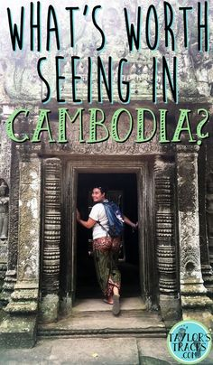There is more to Cambodia than just Angkor Wat. But what exactly is worth seeing in Cambodia? You may be surprised by what you find. Cambodia Itinerary, Cambodia Beaches, Cambodia Travel, Backpacking South America, Backpacking Asia, Phuket, Travel Advice, Travel Tips, Budget Travel