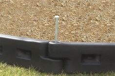 """Action Play Systems offers the highest quality playground border in the industry. APS playground borders are 4' 4"""" long, 4"""" wide and available in either 8"""" or 12"""" heights. Both our 8"""" and 12"""" high pla"""