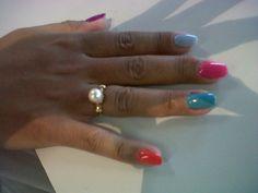 maquillaje semi permanente bicolor uñas naturales