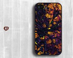 Case for black iphone 4 case iphone 4s case iphone 4 cover painting abstract  design printing. $14.99, via Etsy.