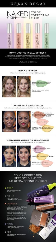 20 Foolproof Tips And Tricks On How To Use Color Correcting Concealer