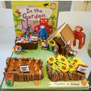 Playing by the Book's Edible Book Festival, 2012 (pictured: Monkey and Robot in the Garden)