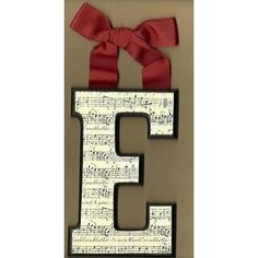 Cute gift idea for music lovers.  Maybe for Julie??