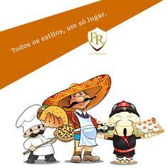 México, Itália ou Japão, não importa o tema da sua festa, a Família Raposo Gastronomia é o lugar certo. #eventos #gastronomia