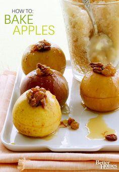 How to Bake Apples ginger ale drinks, bake appl, food, frozen drinks, ale ice, baked apples, gingerale, summer recipes, dessert