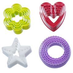 VonShef Plastic Colorful Cookie Cutter Set - 20 Piece ^^ Check this awesome image  : Baking Tools and Accessories